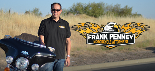 Contact California motorcycle attorney Frank D Penney